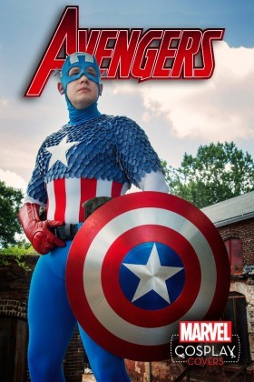 Captain America cosplay cover for the Avengers