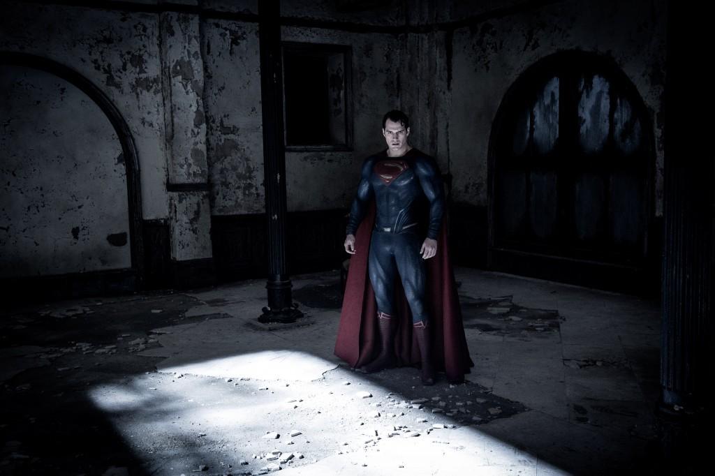 Where's your eye-makeup, Superman?