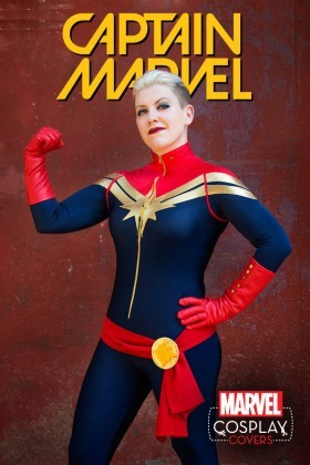 Cosplay Costume Variant for Captain Marvel!