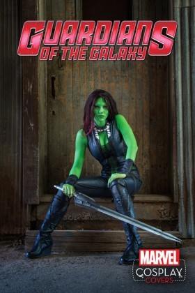 The cosplay cover for Guardians of the Galaxy