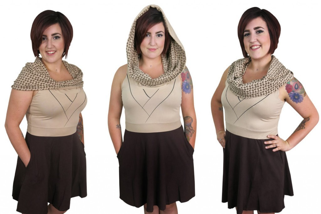 Star Wars Jedi Cowl Dress