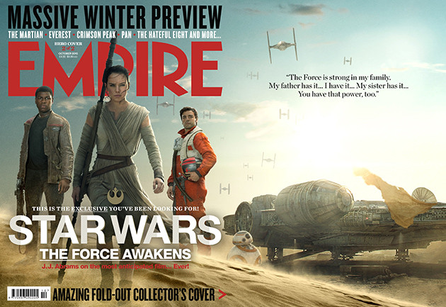 Empire's Star Wars: The Force Awakens Cover