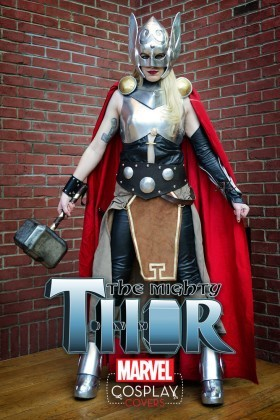 This is the 2nd cosplay cover for the Mighty Thor