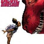 Cover image for Marvel's new Moon Girl and Devil Dinosaur comic
