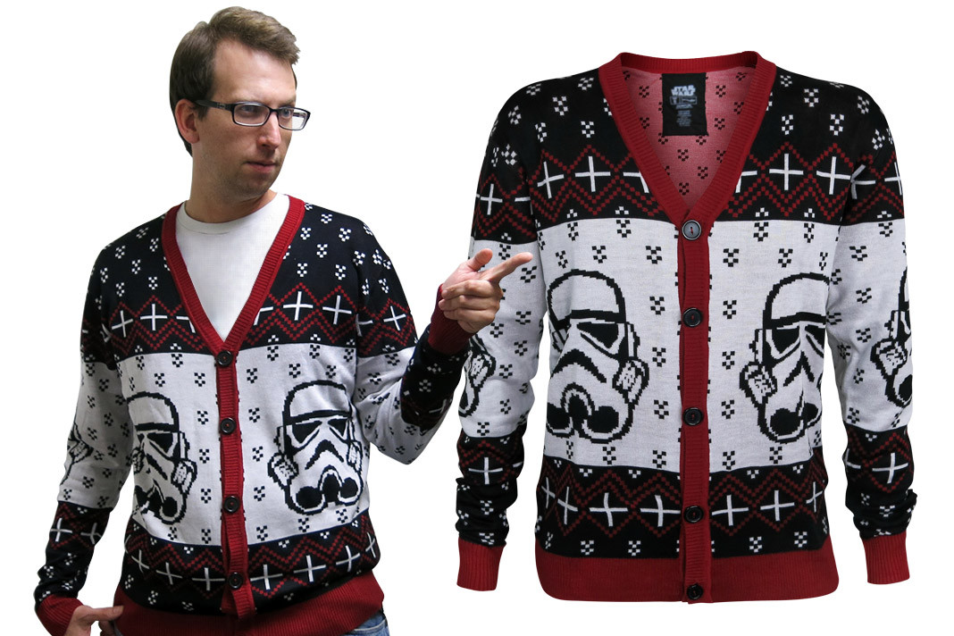 Star Wars Cardigan Stormtrooper Christmas Sweater
