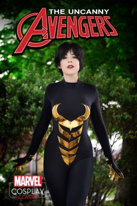 Cosplay Wasp Marvel Cover