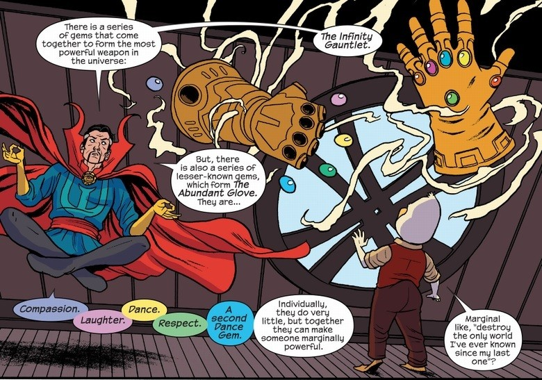 Doctor Strange explains The Abundant Glove