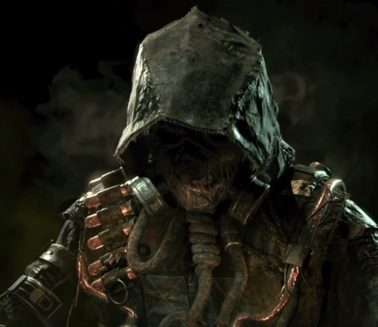 Scarecrow from Arkham Knight!