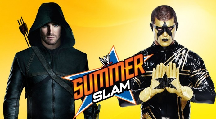 Stephen Amell Vs. Stardust at SummerSlam