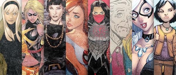 Top 5 Loves of Spider-Man