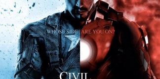 The official poster image for Captain America; Civil War