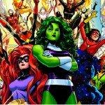 Comic Book Females