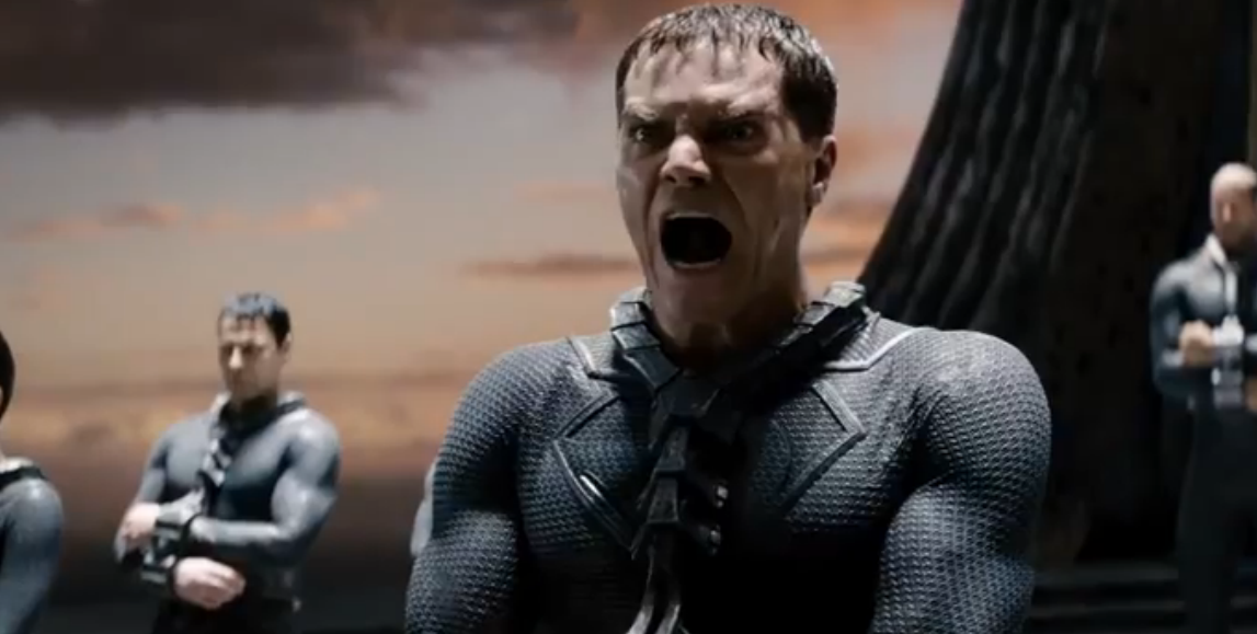 General Zod is not pleased.