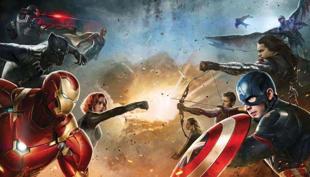 Movie Poster fearuting Civil War sides