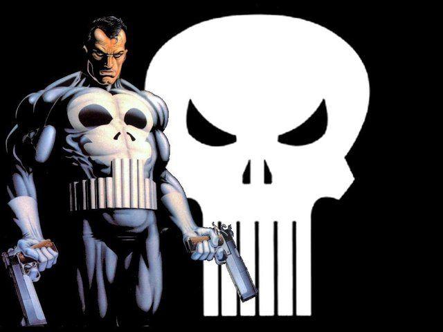 John Bernthal as the Punisher Pre- Chin Lock!
