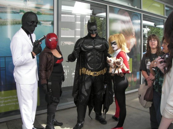 Batman cosplay and costume