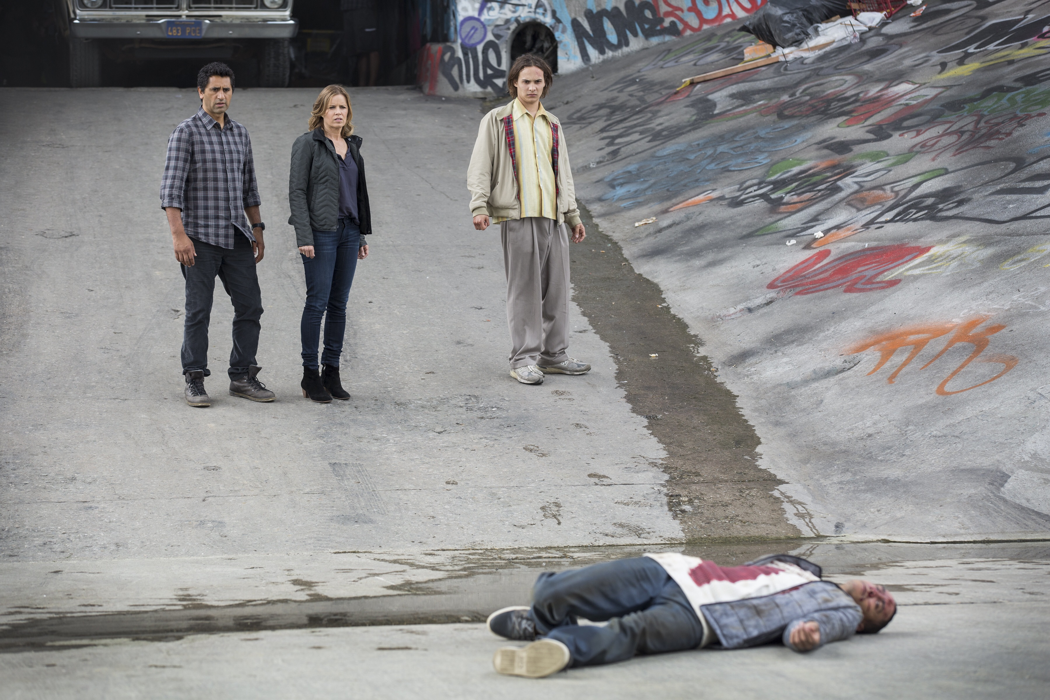 Zombies approve of Fear The Walking Dead.