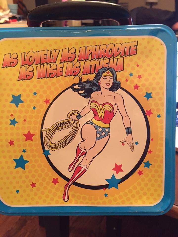 Schools bans Wonder Woman Lunchbox.