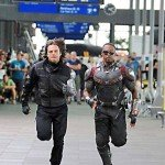 Winter Soldier and Falcon set photo
