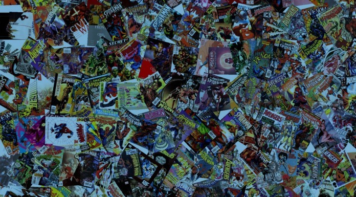 Somebody needs to organize this pile of comics!