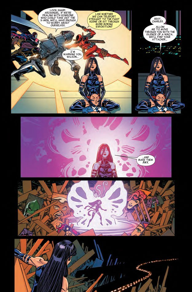 We get some wicked Psylocke action in X-Men '92 #3.