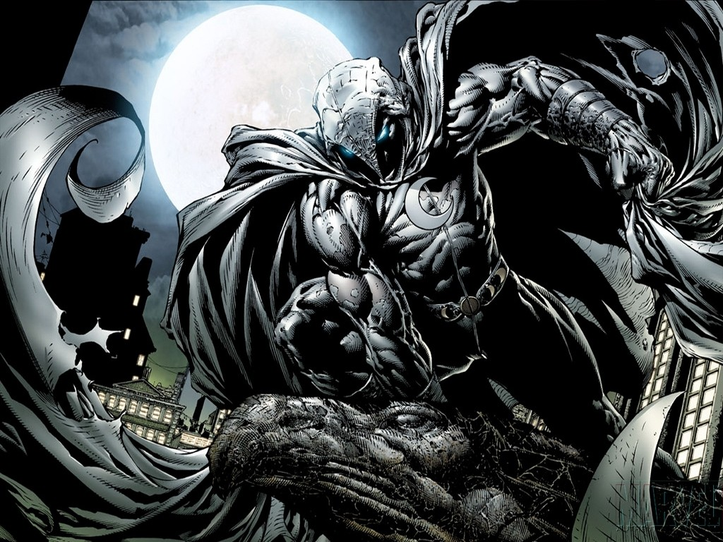 Moon Knight Comic Art