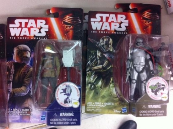 Resistance Fighter and Captain Phasma Action Figures