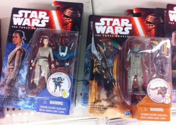 Rey and Constable Zuvio Action Figures