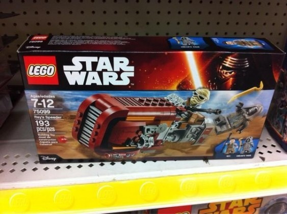 Force Awakens Rey Lego Set