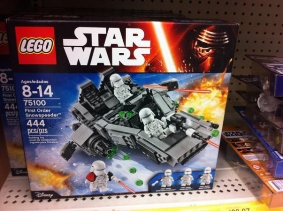 First Order Snowspeeder Lego Set