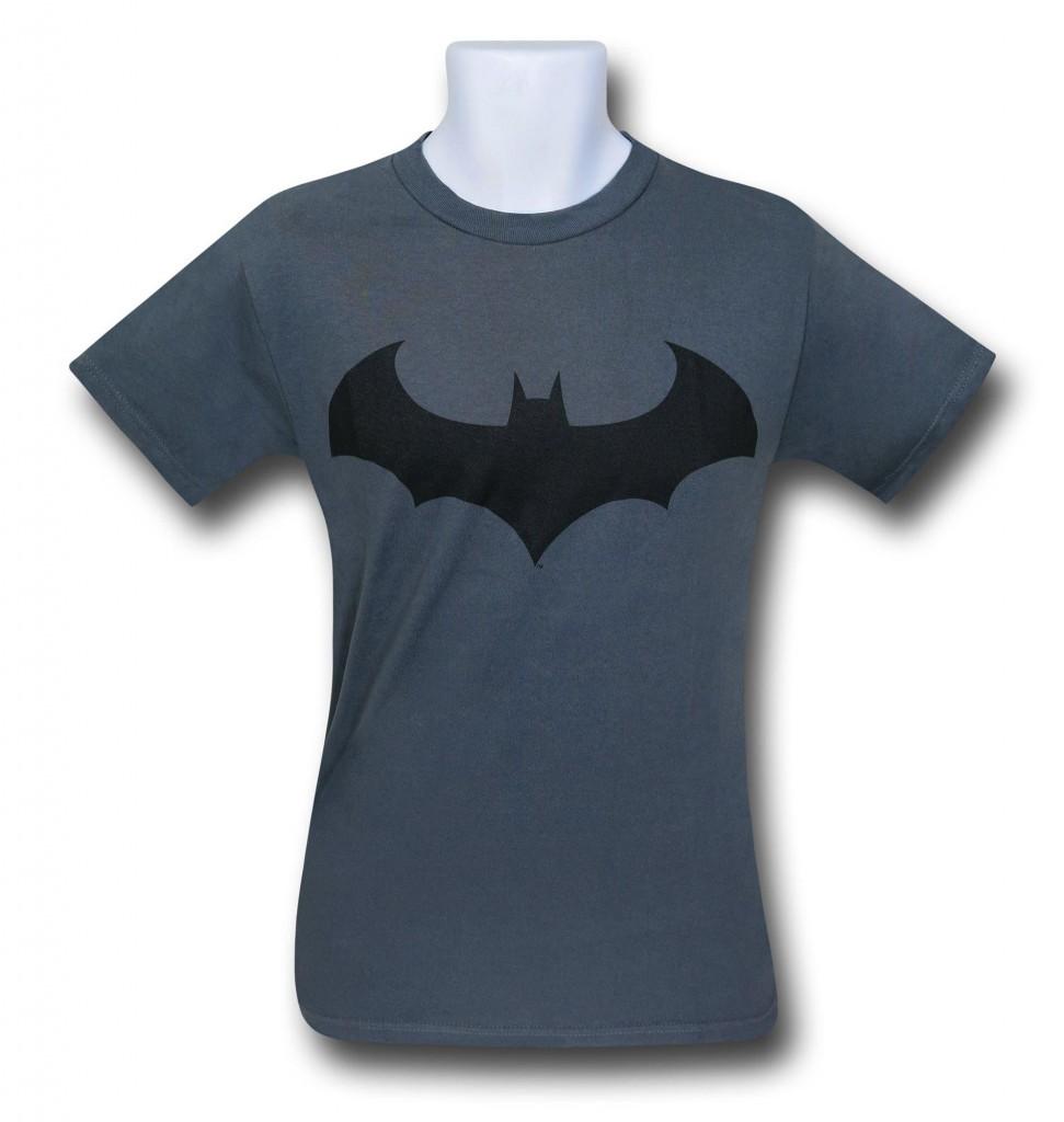 A grey Batman shirt