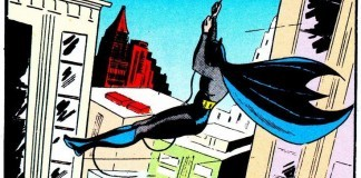 Batman swings into action!