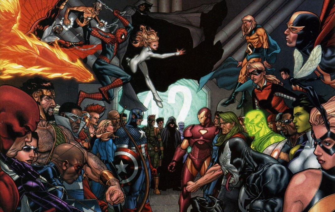 Civil War from Marvel Comics