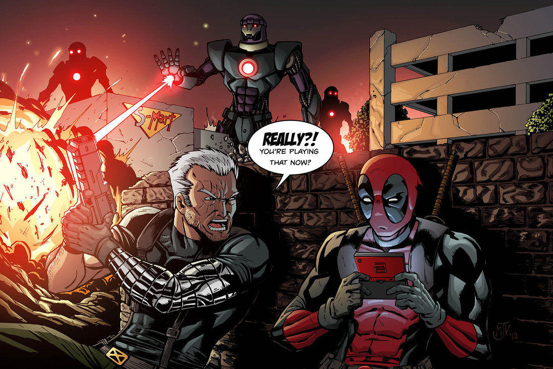 Best Buds; Cable and Deadpool
