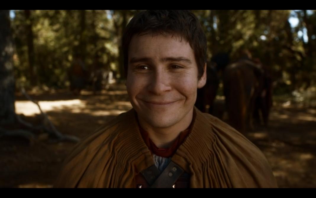 Podrick is happy!