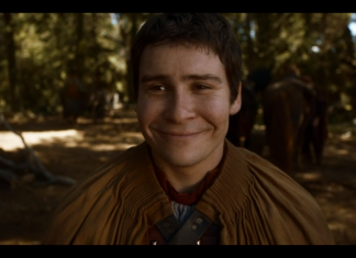 Podrick is happy!
