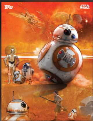 BB-8, C3PO, R2D2