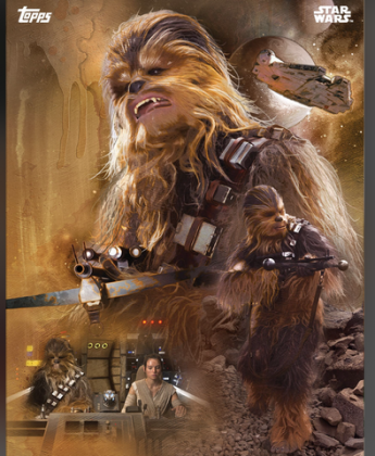 Chewbacca from the new Star Wars