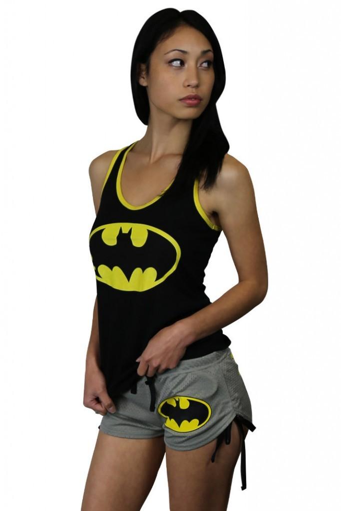Batman Logo Women's Mesh Shorts