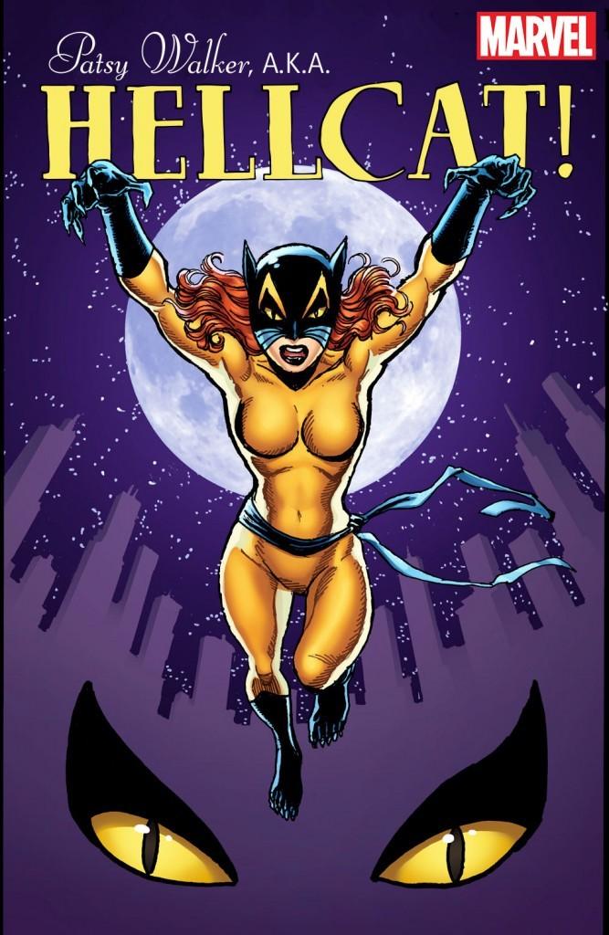 Patsy walker as Hellcat