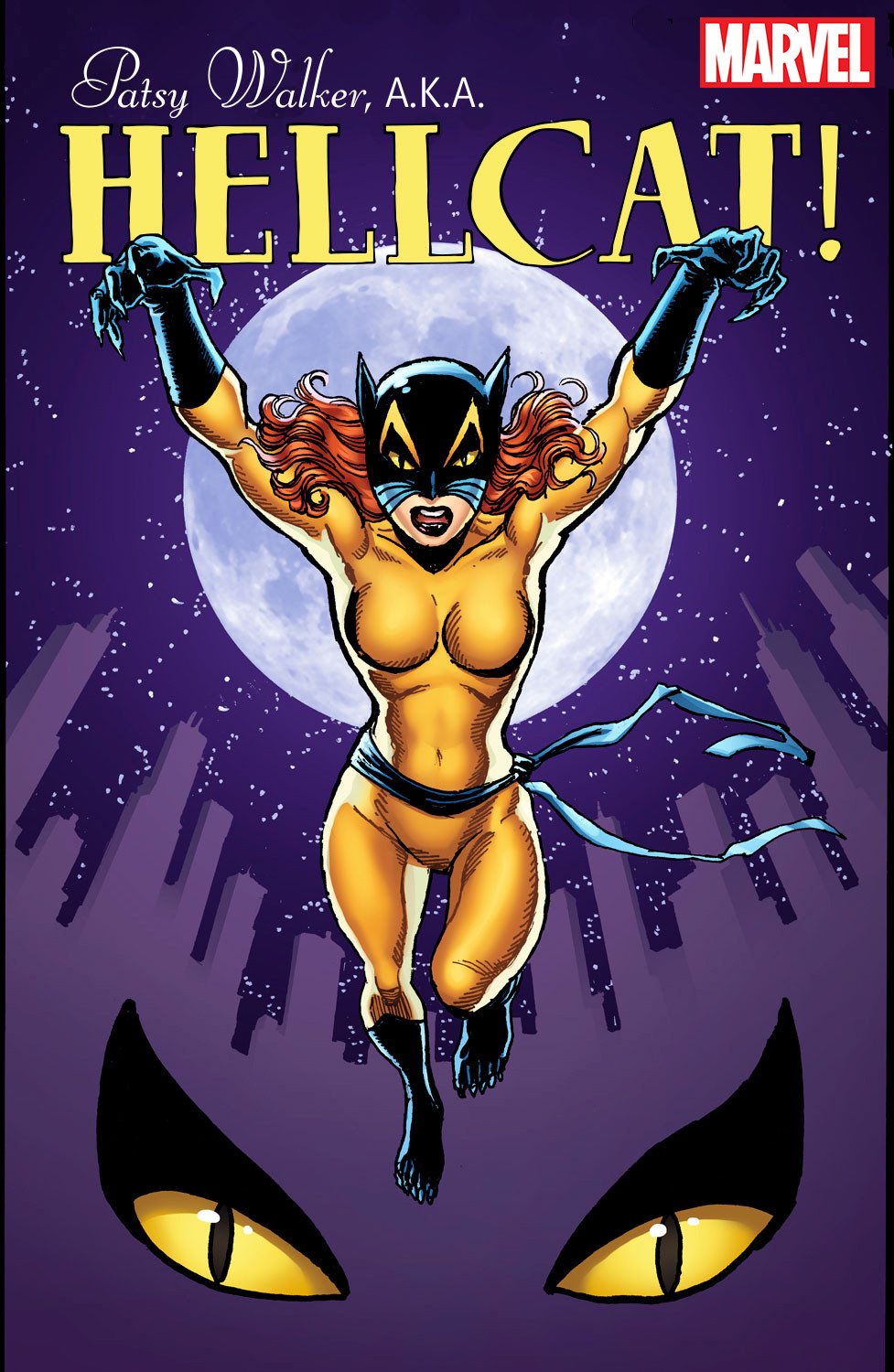 Patsy walker as Hellcat