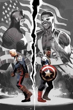 Sam Wilson, Captain America #1 variant cover