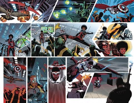 Sam Wilson, Captain America #1