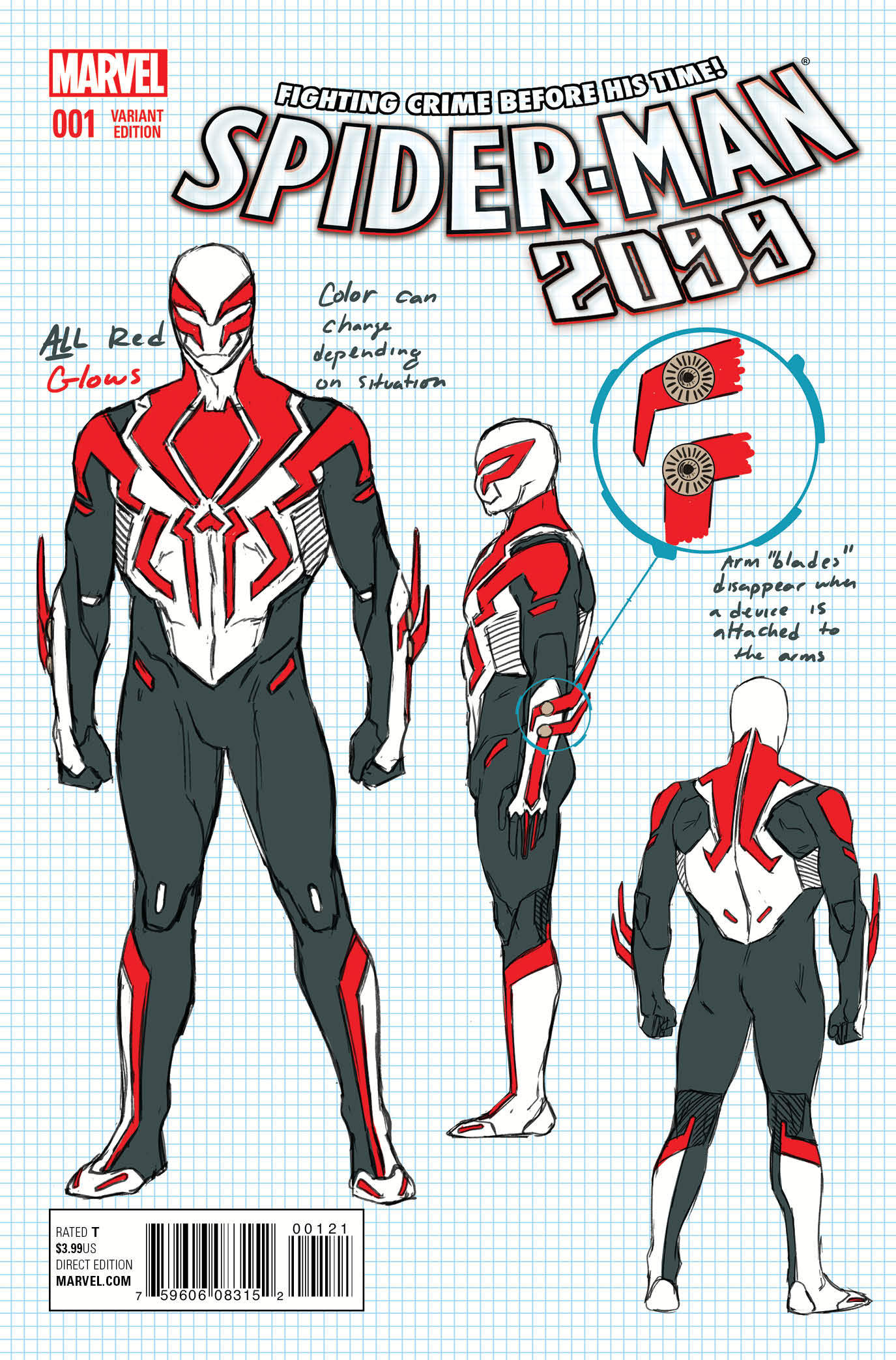 Spider Man 2099 Preview