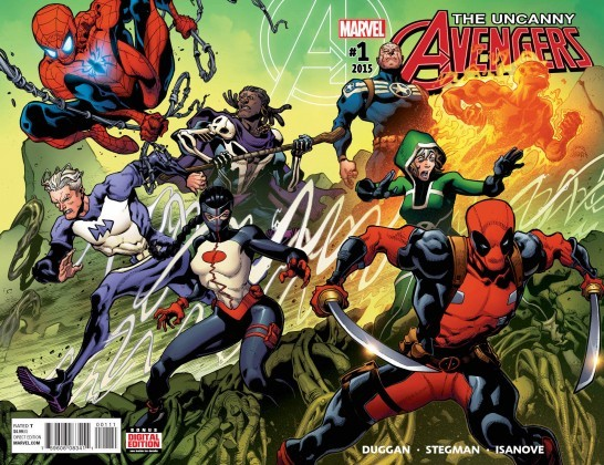 Uncanny Avengers and Deadpool
