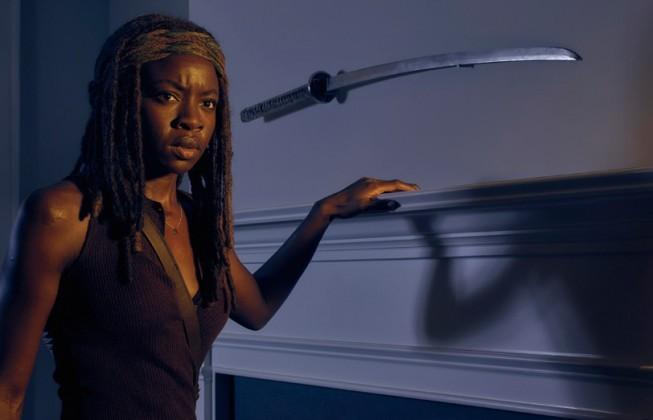 Michonne from Walking Dead Season 6