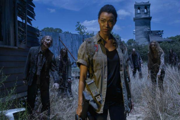 Sasha from Walking Dead Season 6