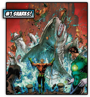 For Aquaman, every week is Shark Week.