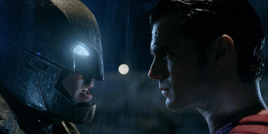 Henry Cavill and Ben Affleck face off in Batman Vs Superman!