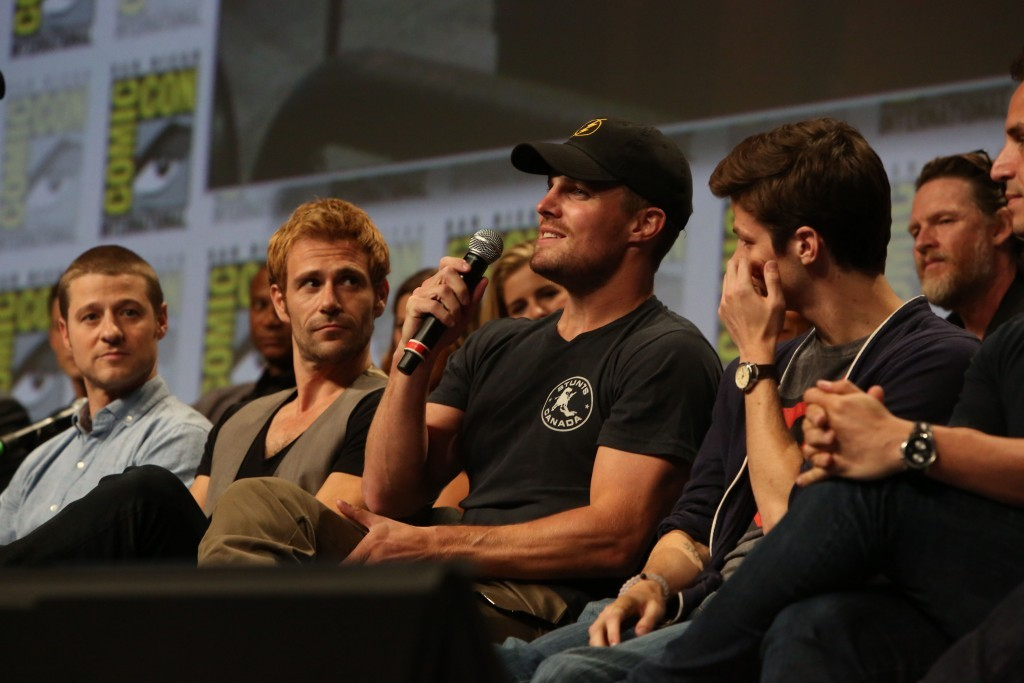 SDCC DC TV panel